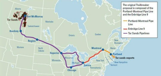 Major Canadian And US Oil Companies Conspired Behind Closed Doors - Active us oil pipelines map