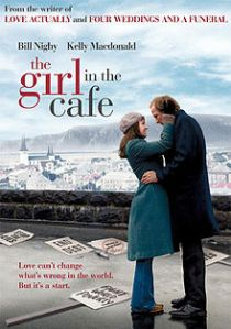 The girl in cafe