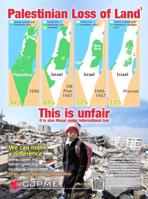 Disappearing Palestine ad