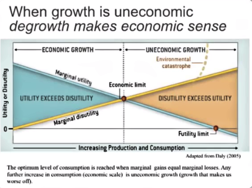 Uneconomic growth