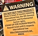 BDS sticky note