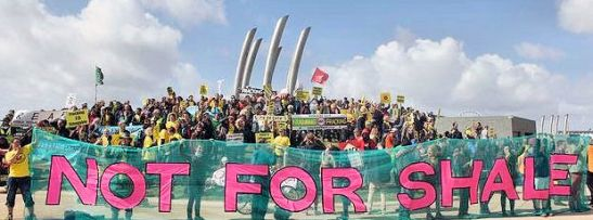 A stand against fracking in the UK